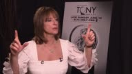 Patti LuPone says it never gets old being nominated says she was watching the news about Osama bin Laden so she'd forgotten when the nominations were...