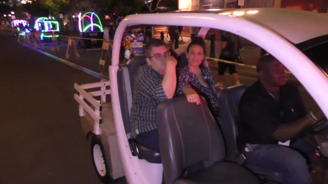 INTERVIEW Patton Oswalt and Meredith Salenger on critics of their relationship at Celebrity Sightings at San Diego ComicCon International on July 22...