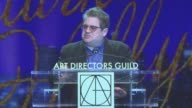 SPEECH Patton Oswalt at 21st Annual Art Directors Guild Excellence in Production Design Awards in Los Angeles CA