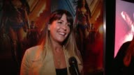 INTERVIEW Patty Jenkins at Dodger Stadium on September 14 2017 in Los Angeles California