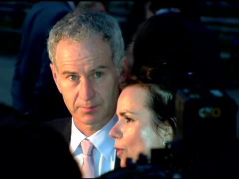 Patty Smyth and John McEnroe at the 2006 Tribeca Film Festival Vanity Fair Party at State Supreme Courthouse in New York New York on April 26 2006