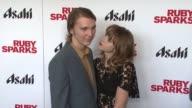 Paul Dano and Zoe Kazan at 'Ruby Sparks' New York Special Screening at Sunshine Landmark on July 11 2012 in New York New York