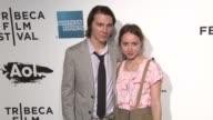 Paul Dano and Zoe Kazan at the 2011 Tribeca Film Festival Opening Night World Premiere of 'The Union' at New York NY