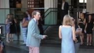 Paul Dano and Zoe Kazan at the 2015 BAFTA Los Angeles TV Tea at SLS Hotel at Beverly Hills at Celebrity Sightings in Los Angeles on September 19 2015...