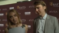 INTERVIEW Paul Dano and Zoe Kazan on the importance of being at tonight's BAFTA event and on their favorite television moments from this past season...