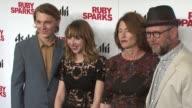 Paul Dano Zoe Kazan Valerie Faris Jonathan Dayton at 'Ruby Sparks' New York Special Screening at Sunshine Landmark on July 11 2012 in New York New...