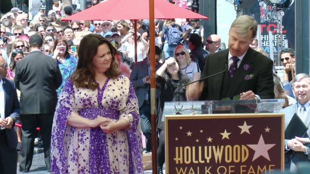 SPEECH Paul Feig at Melissa McCarthy Honored With Star On The Hollywood Walk Of Fame on May 19 2015 in Hollywood California
