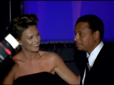 Paul Haggis Charlize Theron Terrence Howard and Chris 'Ludacris' Bridges at the 2006 Palm Springs International Film Festival Gala at Palm Springs...