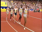 Paul Korir overtakes lead runner to win Men's Mile 2004 Crystal Palace Athletics Grand Prix London