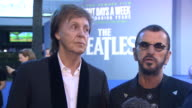 Paul McCartney and Ringo Starr talking about the Beatles final live performance on the roof of Apple and how The Beatles were 'a great little band'