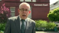 G4S criticised ENGLAND Greater Manchester Stockport Stockport Coroners Court Reporter to camera