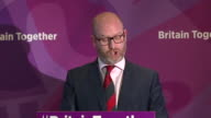 Paul Nuttall saying UKIP will 'hold the government's feet to the fire over Brexit and act as the government's backbone'