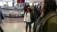 Paul Scheer arrives at Salt Lake City Airport for the Sundance Film Festival on January 21 2016