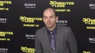 Paul Scheer at the '30 Minutes Or Less' Los Angeles Premiere at Hollywood CA