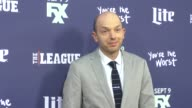 Paul Scheer at the Premiere Of FXX's The League Final Season You're The Worst 2nd Season at BruinTheatrein Westwood on September 08 2015 in Los...