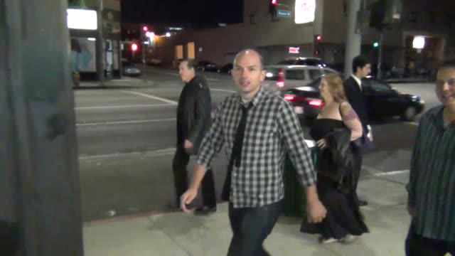 Paul Scheer outside Cat and Fiddle Restaurant in Hollywood at Celebrity Sightings in Los Angeles Paul Scheer outside Cat and Fiddle Restaurant in on...