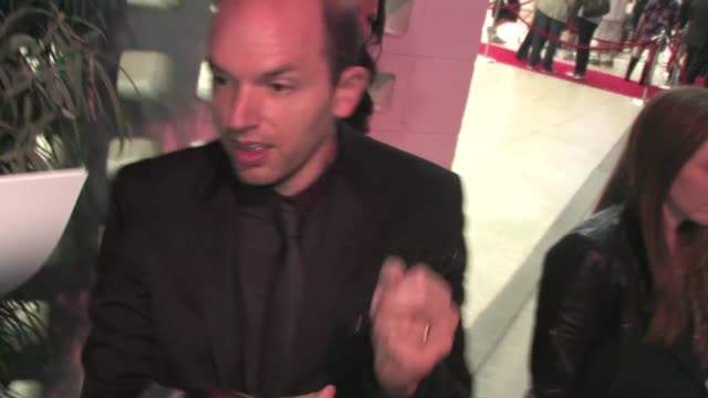 Paul Scheer signs at Archlight in Hollywood