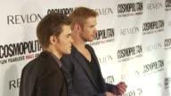 Paul Wesley and Kellan Lutz at the Cosmopolitan Magazine's Fun Fearless Males Of 2010 at New York NY