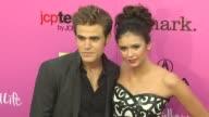 Paul Wesley and Nina Dobrev at the 12th Annual Young Hollywood Awards at Los Angeles CA