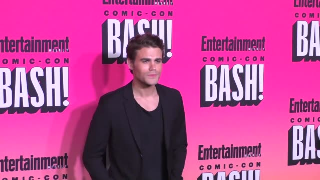 Paul Wesley at the Entertainment Weekly San Diego Comic Con Party