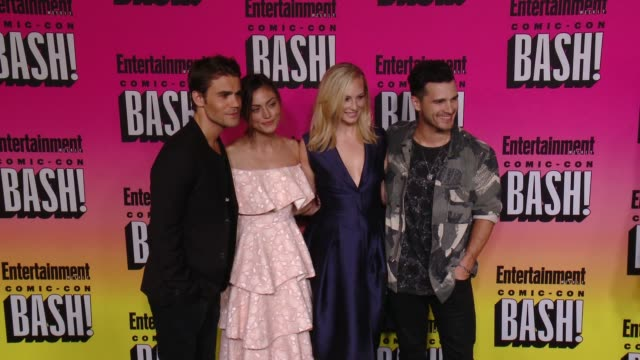 Paul Wesley Candice King Michael Malarkey at Entertainment Weekly Hosts Annual ComicCon Celebration in San Diego CA