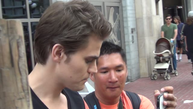 Paul Wesley on streets of San Diego Comic Con at Celebrity Sightings ComicCon International 2013 Celebrity Sightings ComicCon International 2013 on...