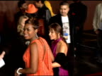 Paula Abdul and Fantasia at the 19th Annual Soul Train Music Awards arrivals at Paramount Studios in Hollywood California on February 28 2005