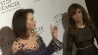 Paula Abdul and Sherry Lansing at Stop Cancer Annual Gala Honoring Lori And Michael Milken at The Beverly Hilton Hotel on November 23 2014 in Beverly...