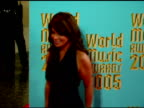 Paula Abdul at the 2005 World Music Awards arrivals at the Kodak Theatre in Hollywood California on September 1 2005
