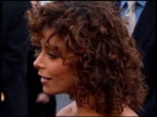 Paula Abdul at the American Music Awards 1998 at the Shrine Auditorium in Los Angeles California on January 26 1998