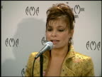 Paula Abdul at the American Music Awards at the Shrine Auditorium in Los Angeles California on January 27 1997