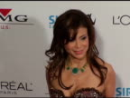 Paula Abdul at the Clive Davis' 2005 PreGrammy Awards Party arrivals at the Beverly Hilton in Beverly Hills California on February 12 2005