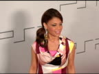 Paula Abdul at the PretaPSP Accessories Show at Pacific Design Center in West Hollywood California on March 14 2005
