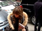 Paula Abdul in New York City at the Celebrity Sightings in New York at New York NY