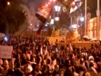 Peaceful protest in Egypt against President Morsi and the new Constitution