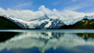 FIRST peak and lake of the Interlaken in Switzerland