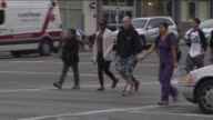 KTLA Pedestrians walking across the Hollywood and Western on March 20 2015 Data released revealed this intersections in Los Angeles as one of the...