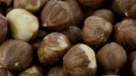 Peeled Hazelnut - 4K video