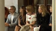 Penelope Cruz and Anna Wintour attend Carolina Herrera Spring 2016 during New York 2016 Fashion Week