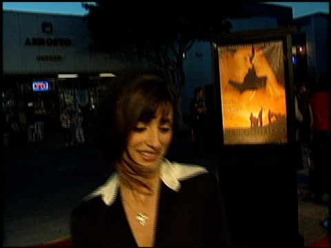 Penelope Cruz at the 'All the Pretty Horses' Premiere at the Bruin Theatre in Westwood California on December 17 2000