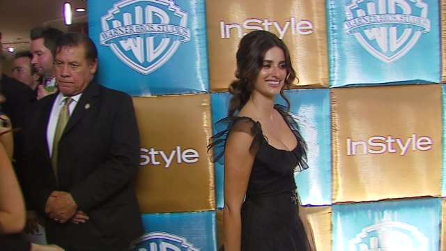 Penelope Cruz at the In Style Magazine and Warner Brothers Annual Golden Globes Party at the Beverly Hilton in Beverly Hills California on January 15...