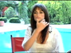 Penelope Cruz Interview at the Penelope Cruz Los Angeles Confidential Magazine Cover Shoot at Los Angeles Confidential in Los Angeles California on...