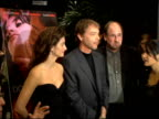 Penelope Cruz John Ray Larry Jackson and Selma Hayek at the Special Screening of 'Don't Move' at Clarity Screening Room in Beverly Hills California...