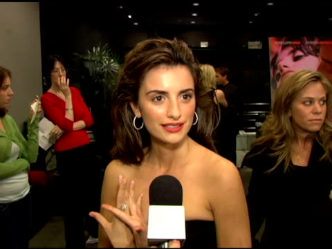 Penelope Cruz on her character in the film her physical transformation in the film on working with director / costar Sergio Castellito the plot of...