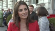Penelope Cruz on what she's wearing on why the film was difficult for her on hidden cameras catching her out on the weather and how hard both her and...