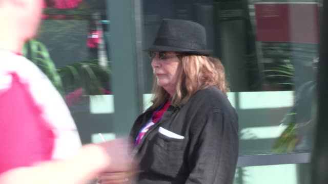 Penny Marshall at Staples Center in Los Angeles 05/05/12