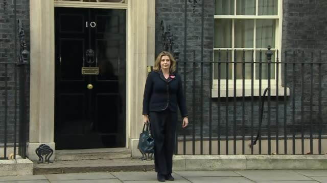 Penny Mordaunt replaces Priti Patel as International Development Secretary Downing Street DAY Mordaunt from Number 10 after being appointed...