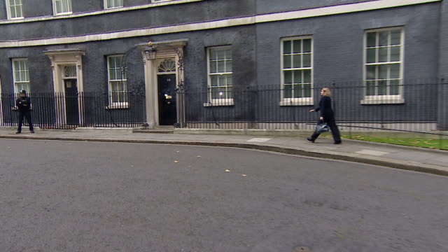 Penny Mourdaunt arriving at 10 Downing Street on her first day as International Development Secretary