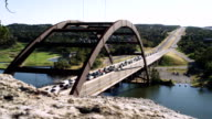 Pennybacker bridge, time lapse