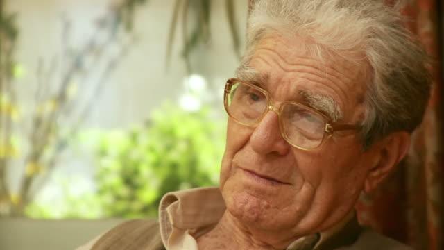 HD: Pensive Senior Man